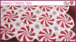 Candy Cane Crochet Afghan » Home Design 2017