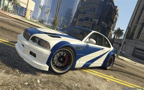 Bmw M3 Gtr by Bmw M3 Gtr E46 Quot Most Wanted Quot для Gta 5
