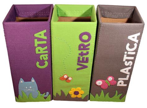 contenitori per raccolta differenziata in casa contenitori raccolta differenziata il feltro di caia