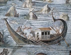 casa della pesca roma imbarcazione fantasiosa da pesca dal quot mosaico nilotico