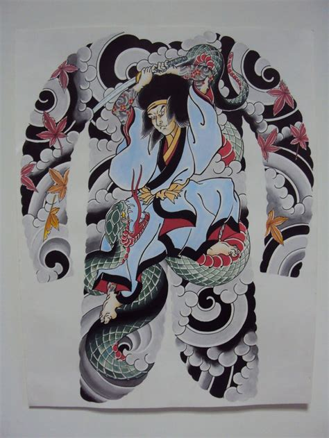 traditional japanese samurai tattoo designs bodysuit pesquisa irezumi horimono