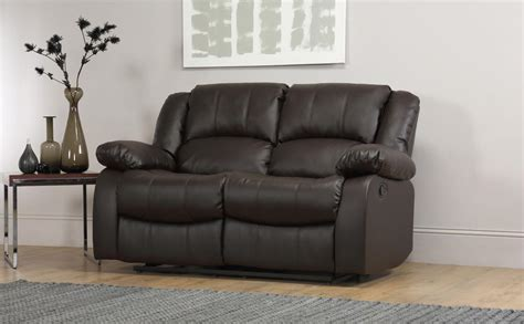 dakota leather sofa dakota 2 seater leather recliner sofa brown only 163 449 99
