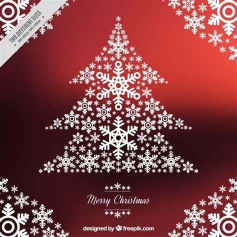 apreciamos un rbol de navidad hecho de nieve en su inferior con fondo de navidad de 225 rbol hecho de copos de nieve