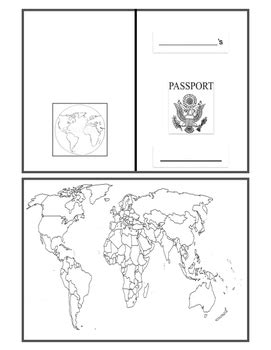 Passport Templates For Teachers by Passport Template For Peru Passport Template For