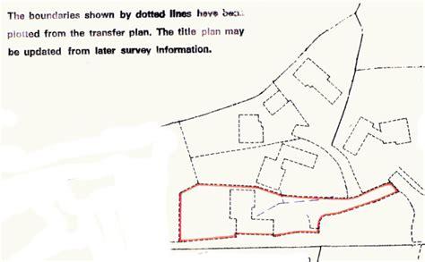 estate layout plan land registry title plans