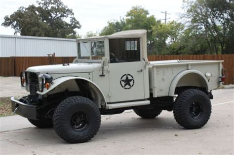sell   dodge power wagon  modern  chassis  fi od auto  pwr ac