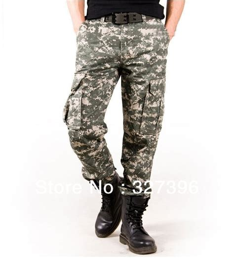 army pattern jeans aliexpress com buy military loose army combat uniform