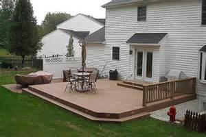 ground level deck patio backyard pinterest decks decking and search