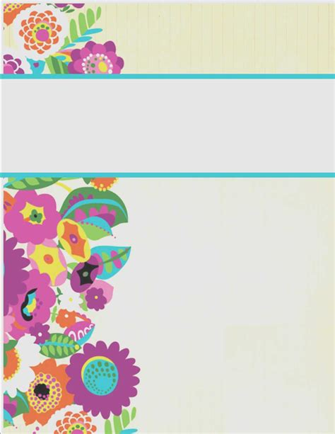 wedding binder cover template new my cute binder covers