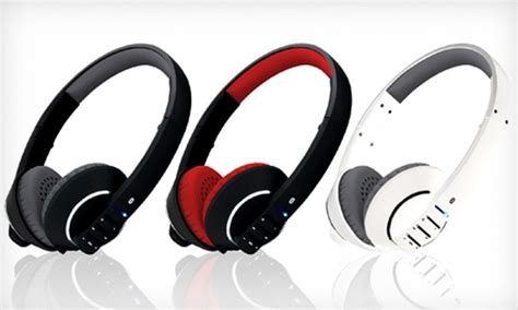 Meelectronics Airfi Runaway Stereo Bluetooth Microphone Af32 Redblack 49 for bluetooth wireless headphones groupon