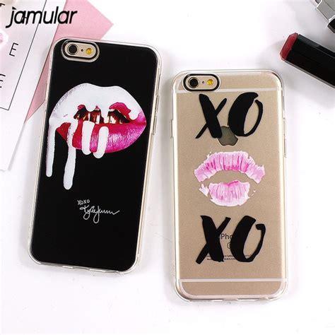 jamular graffiti sexy girl kylie lips phone case