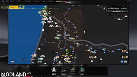 north america map collection  mod  american truck simulator ats
