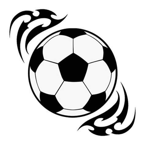 soccer tribal tattoos 6 football designs