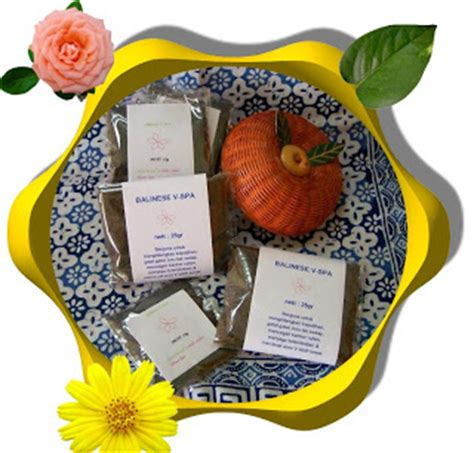 Home Spa Miss V Ratus Bakar Pack Besar Aroma Flower traditional lulur bali