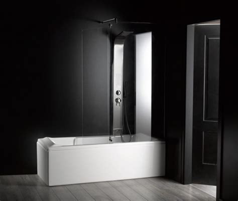 vasca da bagno piccola con doccia vasca da bagno combinata con box doccia quot rettangolare quot