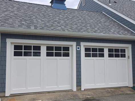coastal series garage door laminated steel garage doors