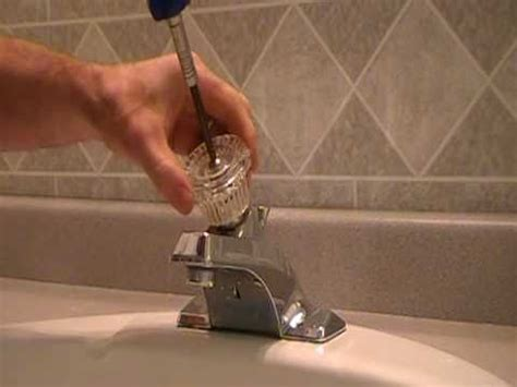 How To Remove A Moen Bathroom Faucet Handle by How To Replace Repair A Leaky Moen Cartridge In A Bathroom