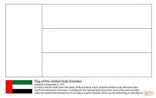 coloring pages uae flag flag of the united arab emirates coloring page free