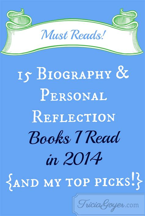 reflection books biography and personal reflections books you must read