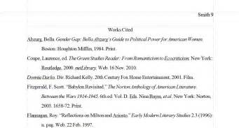 Work Cited Essay Exle by Sle Mla Works Cited 2014 New Calendar Template Site