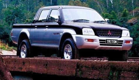 mitsubishi pickup trucks 1996 2006 mitsubishi triton review top speed