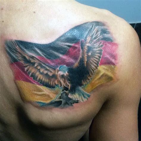 german flag tattoo 50 german eagle designs for germany ink ideas