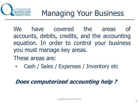 Credit Sales Accounting Formula Accounting Basics Quantum Presentation At Dubai Sme