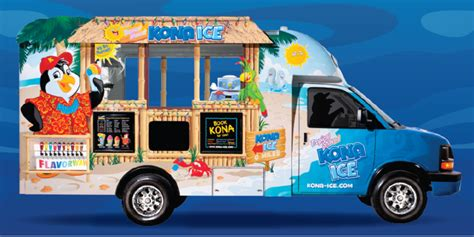 kona ice  central baltimore county food trucks