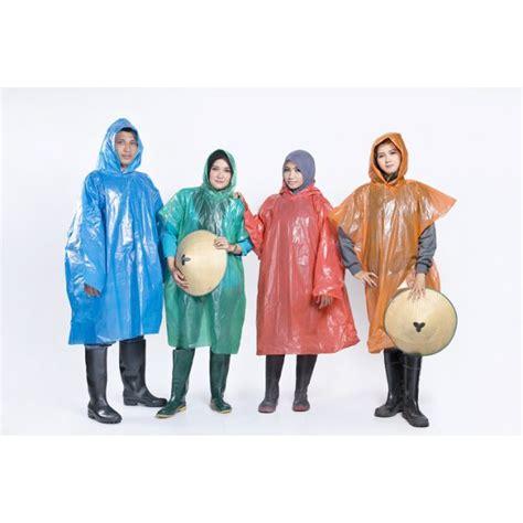 Harga Jas Hujan Plastik Merk Tebu paket 4pcs jas hujan plastik ponco lengan panjang merk