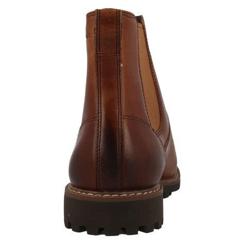 mens clarks chelsea boots montacute top ebay