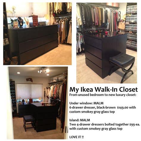 ikea walk in closet hack my ikea hack walk in closet home pinterest