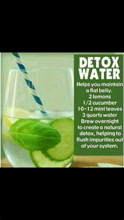 How To Detox After Much Junk by Detox Water H E A L T H Y E A T S Water