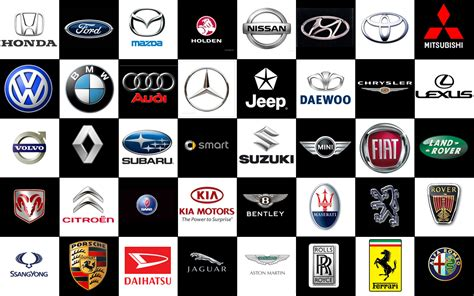 all car logos and names in the world all logos car company logos