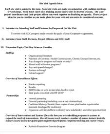 Visit Agenda Template by 9 Sle Visit Agenda Free Sle Exle Format