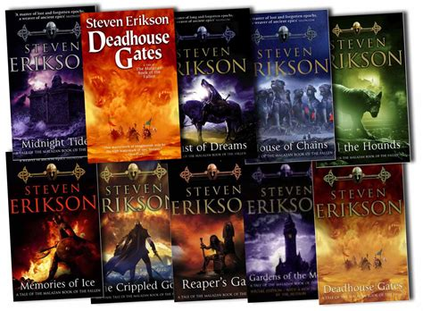 fallen gods tides of war book ii books steven erikson collection the malazan 10 book of the