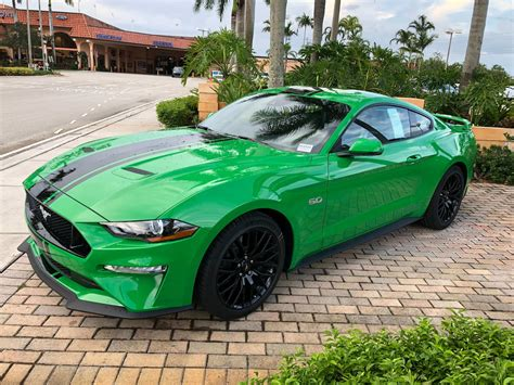 2019 Ford Mustang Colors by New Mustang Color Options For 2019 Need For Green And