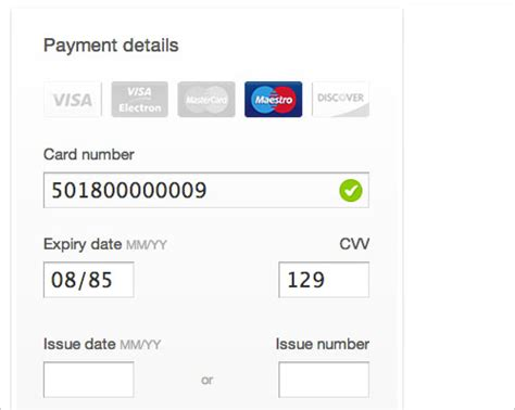 Credit Card Format Jquery Useful Javascript Libraries And Jquery Plugins For Web Developers