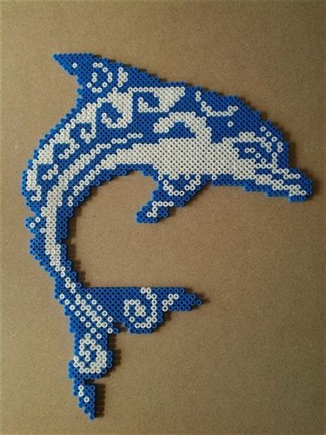 dolphin bead patterns delfin hama hama mini perler etc hama