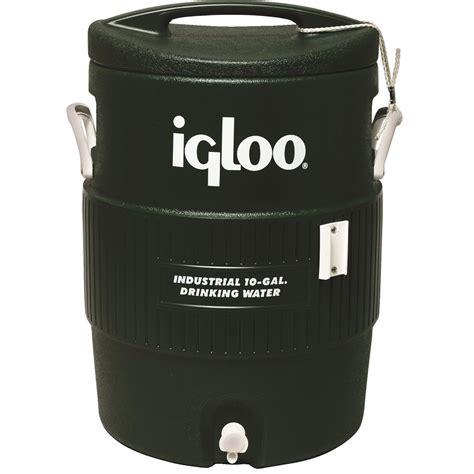 Water Dispenser Igloo igloo 174 green 10 gal water cooler