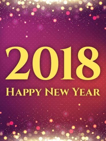 new year 2018 period 909 best greetings images on birthday cards