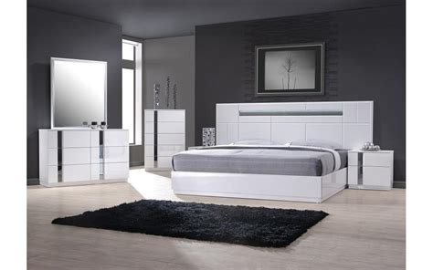 palermo white bedroom set buy    modern furniture store fairfield nj casa eleganza