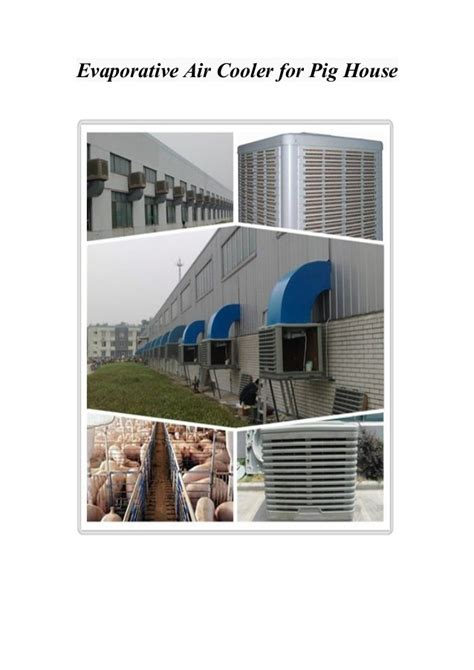 ideal house temperature evaporative air cooler for ideal temperature in the pig house