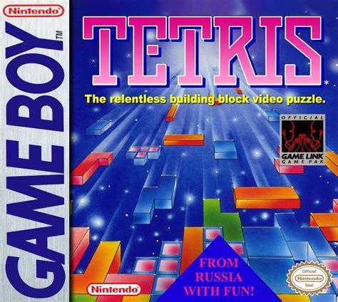Nintendo Contra Logo Flip tetris boy retrogameage