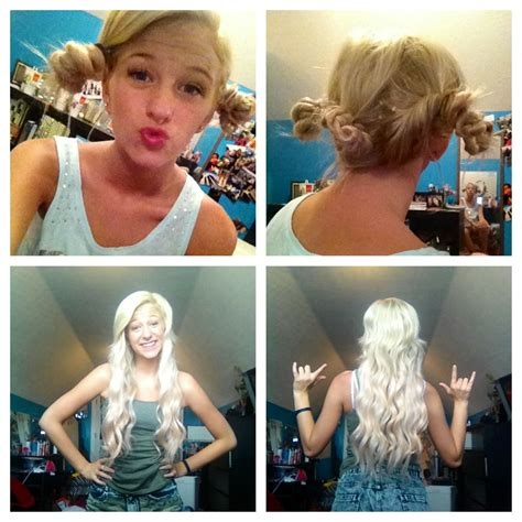 hairstyles for straight hair no heat no heat curls i need to try this hair and makeup