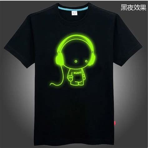 Tshirt Baju Kaos Dj Zedd baju glow in the