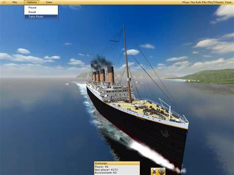 titanic boat download ship simulator 2006 titanic by atom smasher errors on