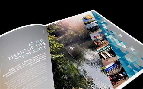 residential layout brochure london property marketing oracle creative