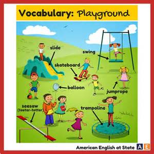 the playground americanenglishatstate an outdoor place