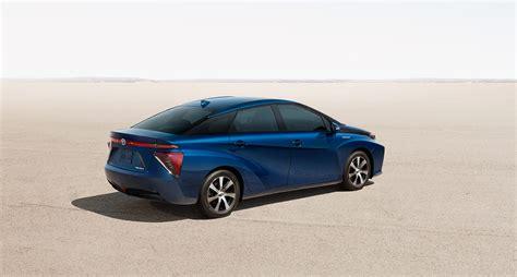 Toyota Mirai Price Toyota Announces The 2016 Toyota Mirai Price And Fuel Economy