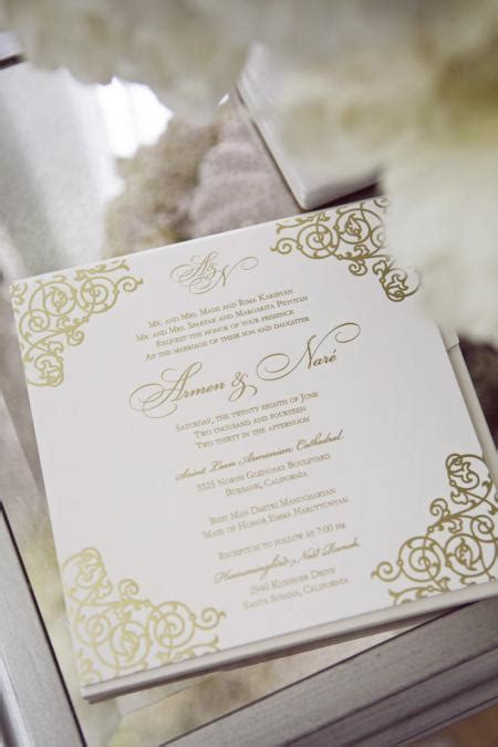 Wedding Invitations Gold And White by Wedding Invitations And Calligraphy Grace Ormonde